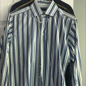Men's Burberry button down shirt